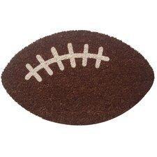 Sweet Home Football Doormat