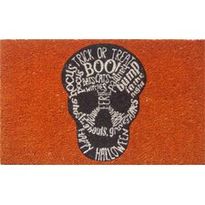 Sweet Home Skull Doormat