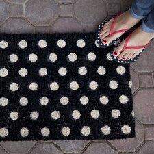 Handmade Polka Dots Doormat