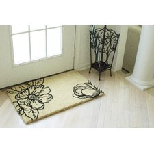 Williamsburg Magnolia Blossom Doormat