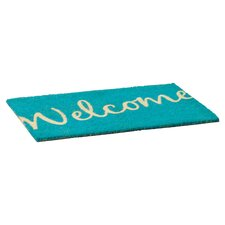Sweet Home Cursive Welcome Doormat