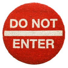 Sweet Home Do Not Enter Doormat