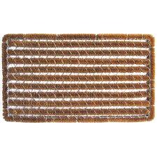Bootscrapers Stripes Wire Brush Doormat