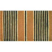 Handmade Ticking Stripes Doormat