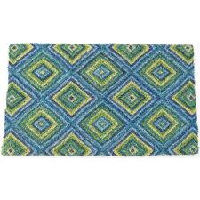 Handmade Summer Geometric Doormat