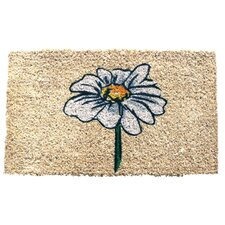 Handmade Single Daisy Doormat