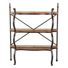 "3 Tier Shelf 51.38"" Etagere Bookcase"
