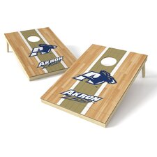 NCAA Hardwood Cornhole Game Set