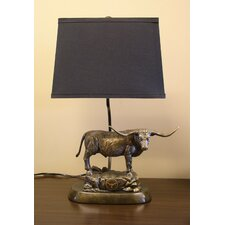 "NCAA Tim Wolfe 19"" H Table Lamp with Empire Shade"