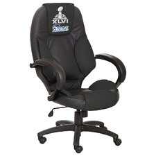 NFL Officially Licensed High-Back Leather Executive Chair