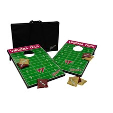 NCAA 10 Piece Cornhole Game Set