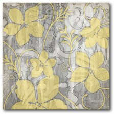 Flower I Graphic Art on Wrapped Canvas