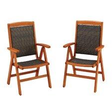 Bali Hai Dining Arm Chair (Set of 2)