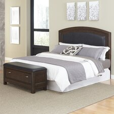Crescent Hill 2 Piece Upholstered Headboard and Bench Set