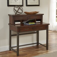 Cabin Creek Computer Desk with Hutch and Keyboard Tray