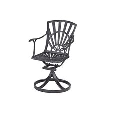 Largo Swivel Dining Arm Chair