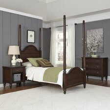 Country Comfort Four Poster 3 Piece Bedroom Set