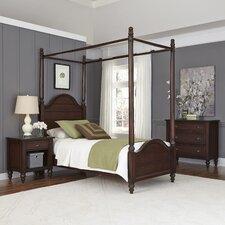 Country Comfort Canopy 3 Piece Bedroom Set