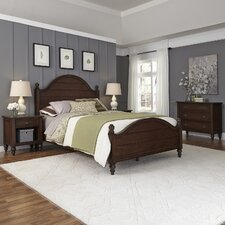 Country Comfort Panel 4 Piece Bedroom Set