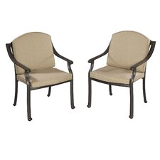 Covington Dining Arm Chair with Cushion (Set of 2)