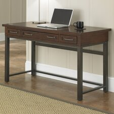 Cabin Creek Computer Desk with 1 Right & 1 Left Drawer
