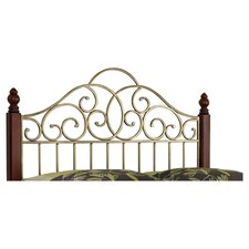 St. Ives Wood and Metal Headboard