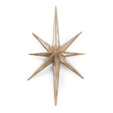 """Antique Gold """"Twinkle"""" Star"""