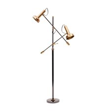 "Double Shade 72"" Task Floor Lamp"
