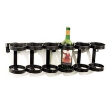 Ristorante 6 Bottle Wall Mounted Wine Rack