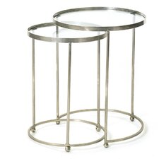 Circle 2 Piece Nesting Table Set