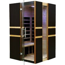 2 Person Modern Carbon FAR Infrared Sauna