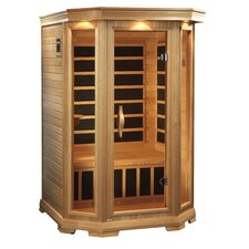 Luxury 2 Person Carbon FAR Infrared Dry Sauna
