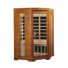 2 Person Corner Carbon FAR Infrared Sauna