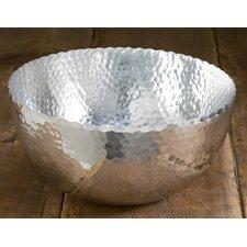 Hammered Aluminum Petal Bowl