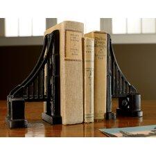 Cast Iron Bridge Book End (Set of 2)