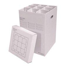 9 Slot Rolled File Filing Box