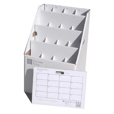 16 Slot Rolled Document Filing Box