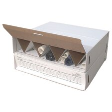 Modular Stackable Roll Filing Box (Set of 2)