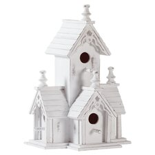 Historic Manor Freestanding Birdhouse