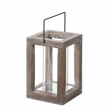 Weathered Wood Lantern