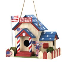 All American Hanging Birdhouse