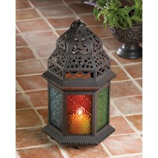Exotic Multicolored Tabletop Lantern