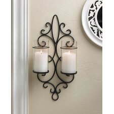 Esprit Duo Iron Candle Sconce