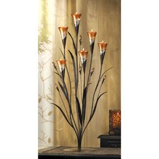 Lily Blossoms Candle Holder