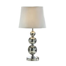 "Broadway Glitz 23.13"" H Table Lamp with Empire Shade"