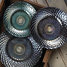 Iridescent Decorative Plate