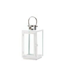 Carrel Iron and Glass Lantern
