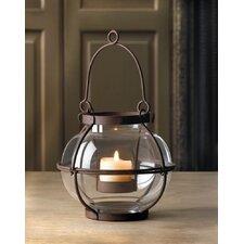 Heirloom Iron and Glass Lantern