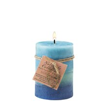Soothing Aroma Pillar Candle