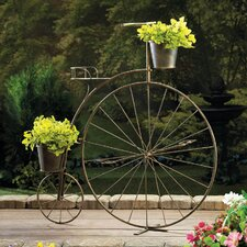 Old-Fashioned Bicycle Etagere Plant Stand